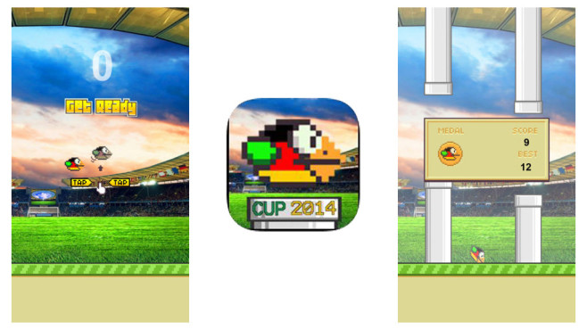 Flappby Germany – Footbal Bird 2014 © Be Intellect