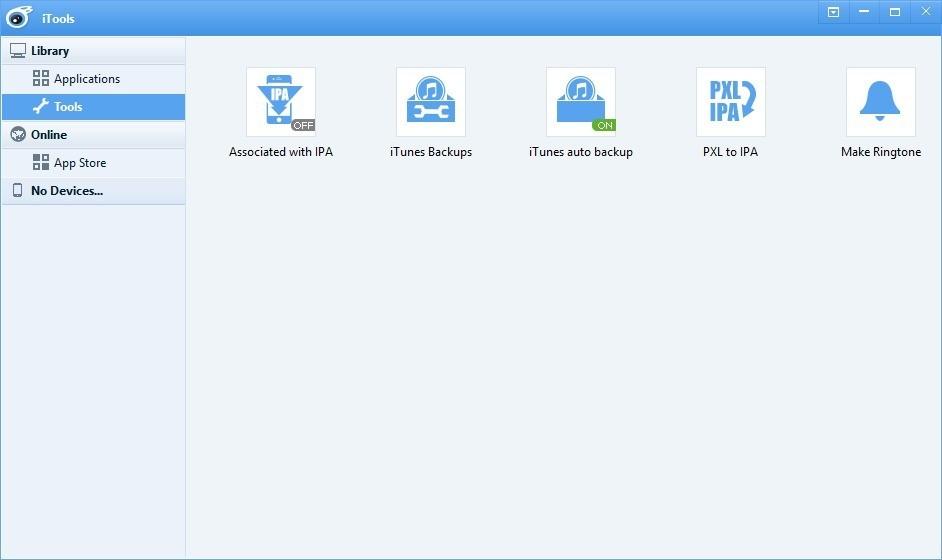 Screenshot 1 - iTools