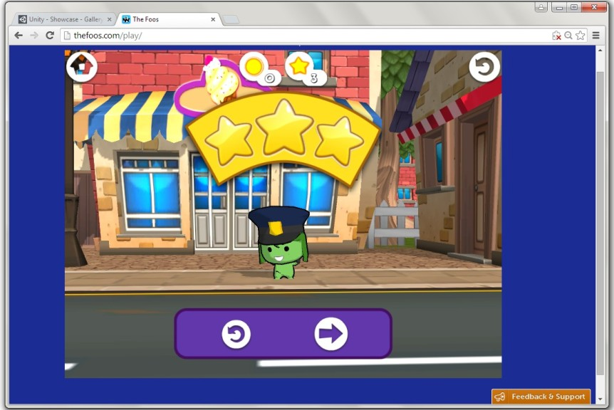 Screenshot 1 - Unity Web Player