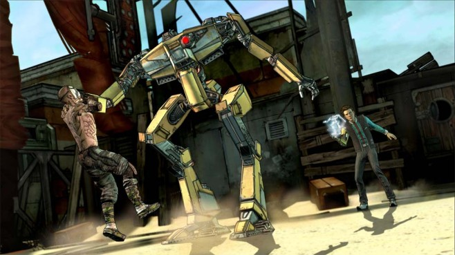 Tales from the Borderlands: ©Telltale Games