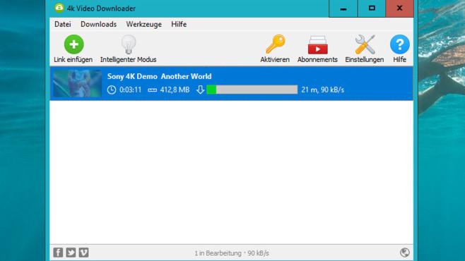 4K Video Downloader: Hochauflösende Videos laden ©COMPUTER BILD