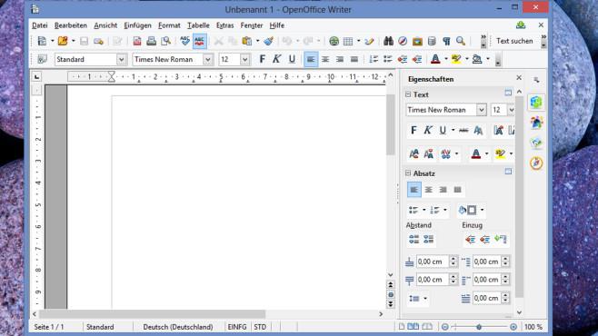 OpenOffice: Büro-Suite mit PDF-Export ©COMPUTER BILD