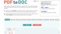 PDF to DOC (PDF in Word umwandeln)©COMPUTER BILD