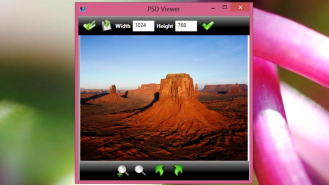 PSD Viewer: Photoshop-Dateien in JPEGs umwandeln ©COMPUTER BILD