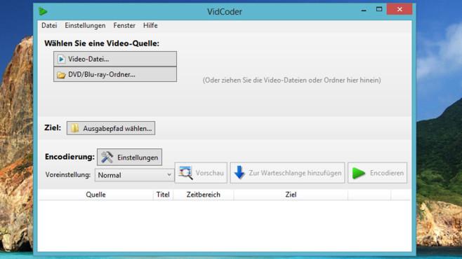 VidCoder: DVDs und Blu-rays umwandeln ©COMPUTER BILD