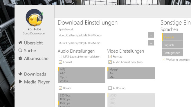 YouTube Song Downloader 2019: Audio+Video speichern ©COMPUTER BILD