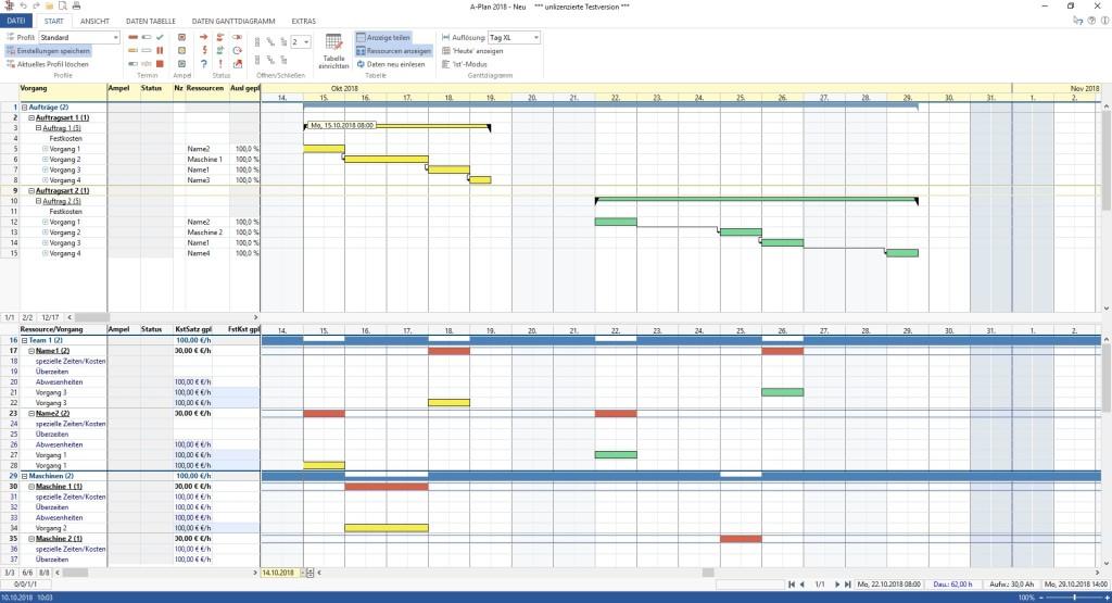 Screenshot 1 - A-Plan 2018