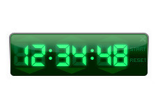 Screenshot 1 - Free Desktop Timer