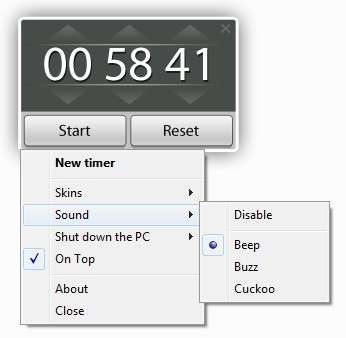 Free Desktop Timer 1 21 - Download - COMPUTER BILD