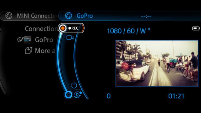 GoPro im BMW Mini©BMW