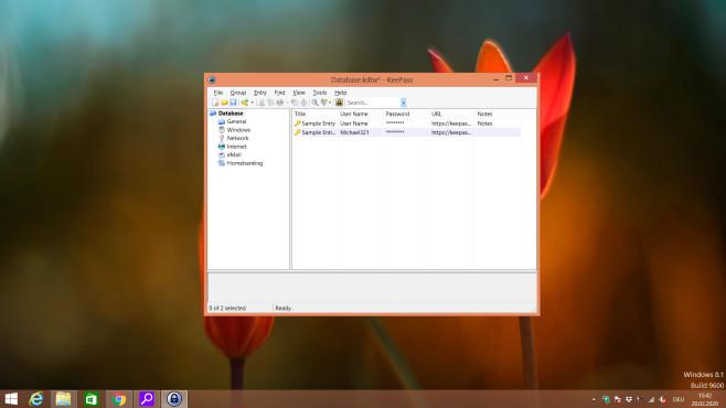 KeePass: Log-in-Daten verwalten ©COMPUTER BILD