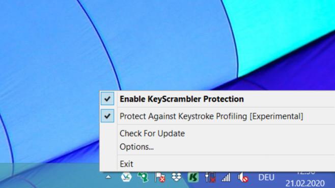 KeyScrambler: Tastatureingaben verschlüsseln ©COMPUTER BILD