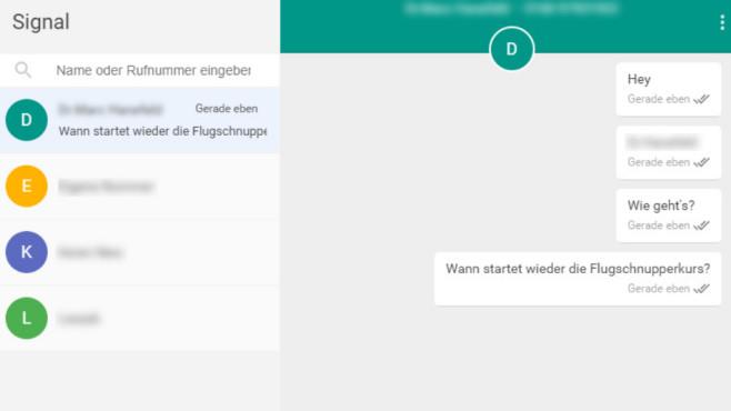 Signal Messenger: Instant-Messenger zum Chatten ©COMPUTER BILD