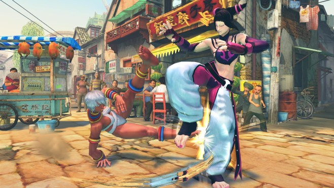 Ultra Street Fighter 4: Capoeira © Capcom