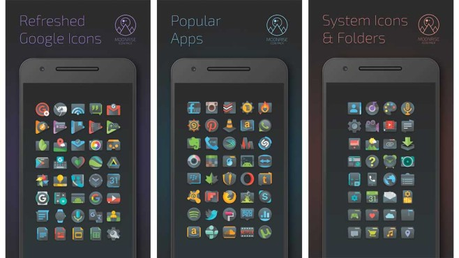 Moonrise Icon Pack © MSite Studio