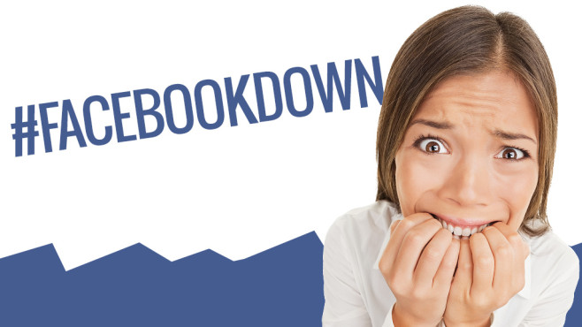 Facebook down: Das soziale Netzwerk war offline #Facebookdown: Es passiert selten, aber auch Facebook hat mal eine Panne.©Maridav - Fotolia.com