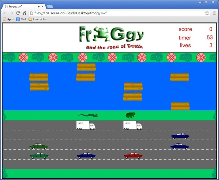 Screenshot 1 - Froggy