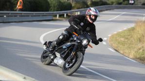Harley-Davidson Livewire auf der Straße©Harley-Davidson