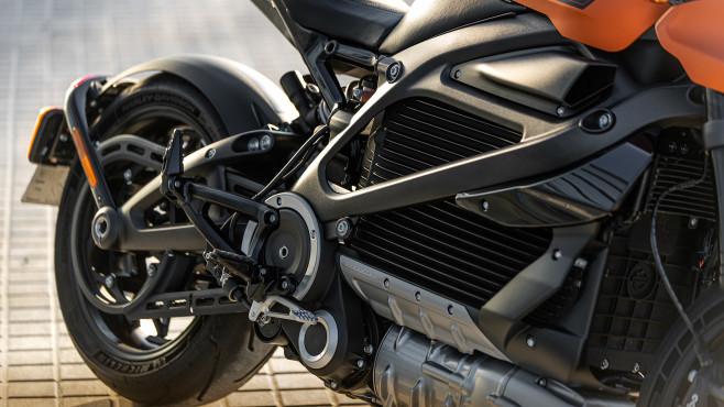 Harley-Davidson Livewire: Rahmen©Harley-Davidson