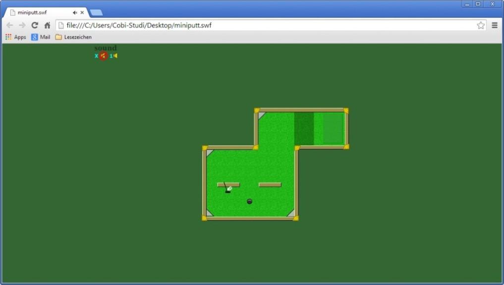 Screenshot 1 - Mini Putt