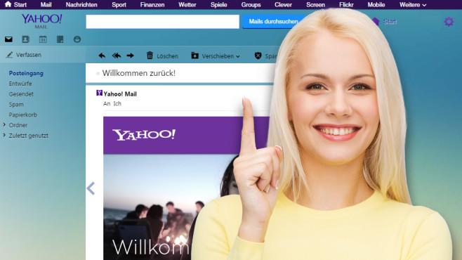 Yahoo Mail: Hilfe und Tipps zum E-Mail-Dienst Yahoo Mail bietet viele unscheinbare Funktionen. Sie ersparen Mausklicks oder halten Spam fern.©Copyrights: Yahoo, Syda Productions - Fotolia.com