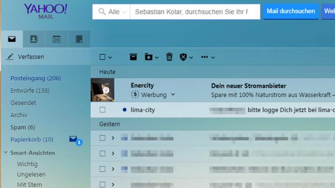 E-Mails per Drag&Drop verschieben ©COMPUTER BILD