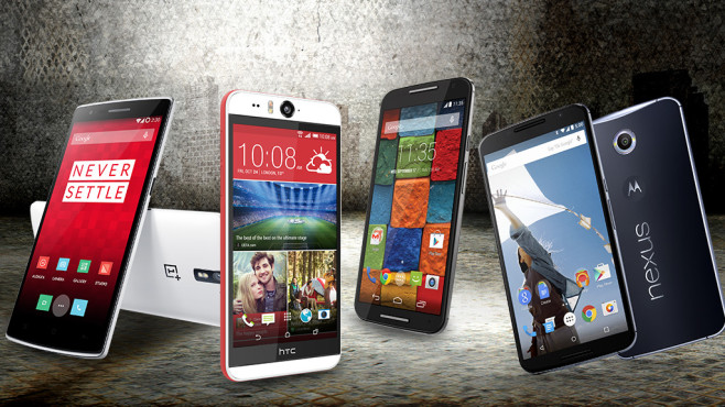Android-Kracher: Top-Handys für jeden Typ©HTC, Nexus, Motorola, Sergey Nivens - Fotolia.com