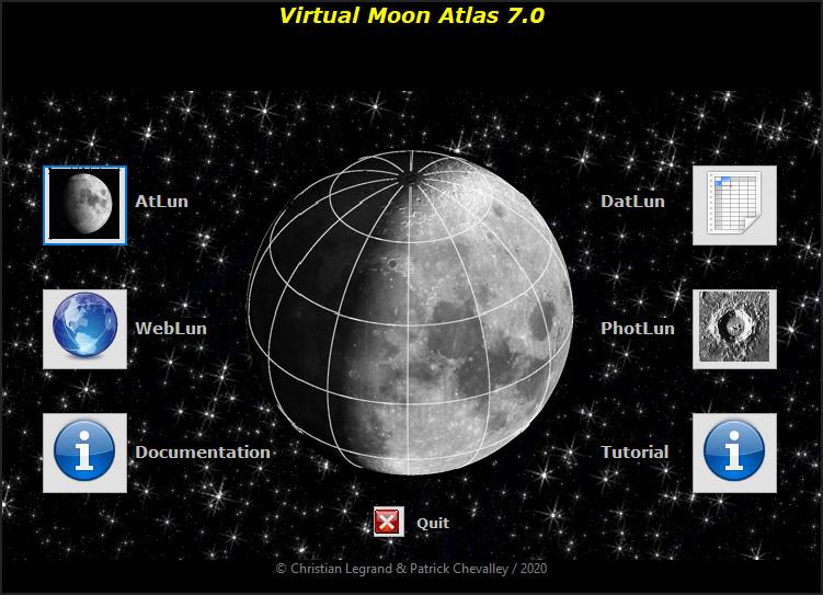Screenshot 1 - Virtual Moon Atlas