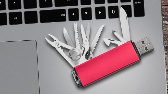 Der perfekte USB-Stick©istock.com/xxmmxx, ©istock.com/Krasyuk, ©istock.com/ExperienceInteriors