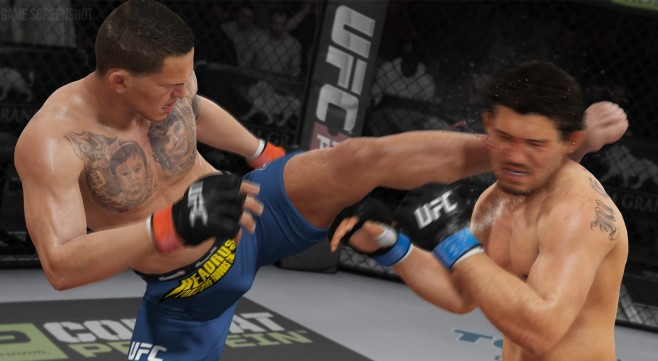 EA Sports UFC: Kick © Electronic Arts