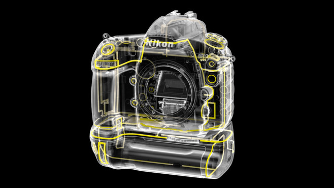 Nikon D810 Dichtung vorne ©Nikon