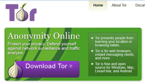 Tor Website © COMPUTER BILD