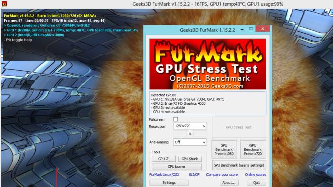 FurMark: Grafikprozessor herausfordern ©COMPUTER BILD