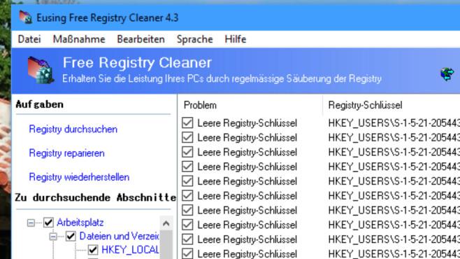 Windows 7/8/10: Registry reparieren – warum das Humbug ist©COMPUTER BILD