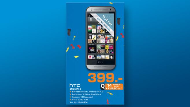 HTC One mini 2 ©Saturn