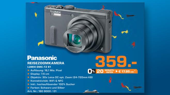 Panasonic Lumix DMC-TZ61 ©Saturn