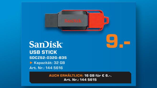 Sandisk Cruzer Switch 32GB ©Saturn