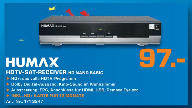 Humax HD Nano Basic ©Saturn