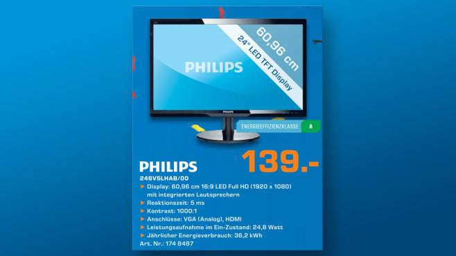 Philips 246V5LHAB ©Saturn
