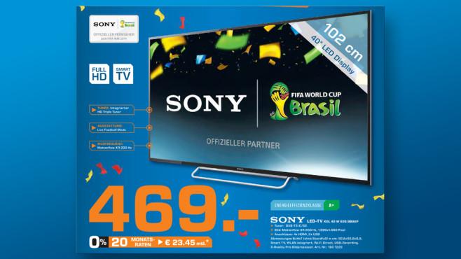 Sony KDL-40W605B ©Saturn