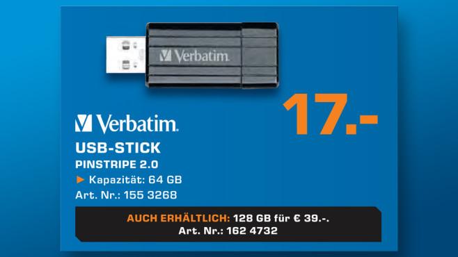 Verbatim USB-Stick 64GB ©Saturn