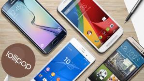 Android 5.0 Lollipop©Motorola, Samsung, HTC, Sony