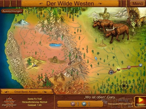 Settlers of the West – Abenteuer im Wilden Westen © Intenium
