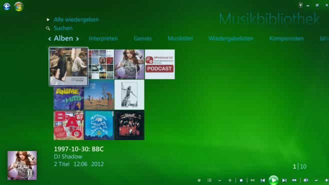 Windows Media Center für Windows 10 ©COMPUTER BILD