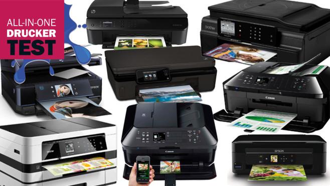 Multifunktionsdrucker im Test: Aktuelle Modelle auf dem Prüfstand ©Epson, HP, Brother, Canon
