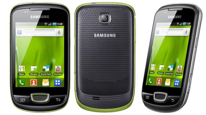 Samsung Galaxy Mini S5570 ©Samsung