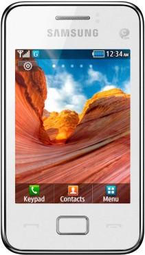 Samsung Star 3 (S5220) ©Samsung