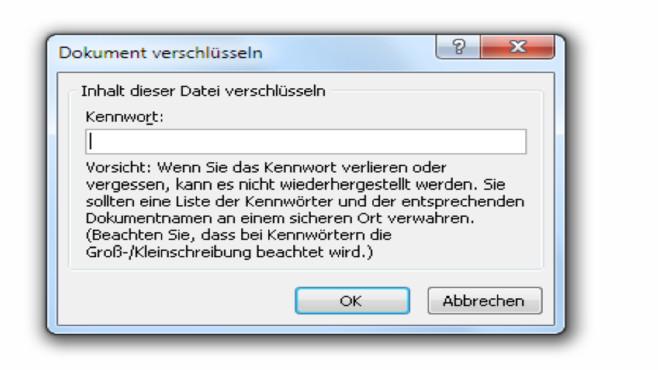Datei-Kennwort ©Microsoft/COMPUTER BILD