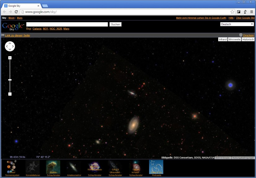 Screenshot 1 - Google Sky