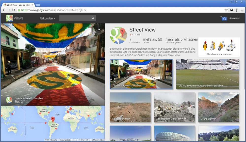 Screenshot 1 - Google Street View